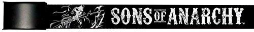 Sons Of Anarchy Crime Tv Series Holding Scythe Web Belt