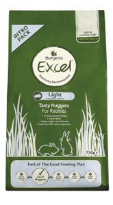 Monster Pet Supplies Burgess Excel Rabbit Food Light by Monster Pet Supplies