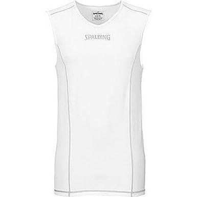 Spalding 300205502 Camiseta de Tirantes de compresión Baloncesto ...