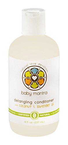 Bébé Mantra démêlant, blanc, 8 once liquide