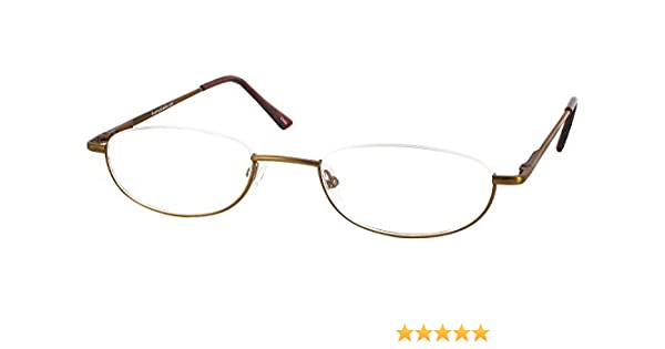 d3dc9951360 Amazon.com  Clearview Single Vision Half Frame Reading Glasses ...