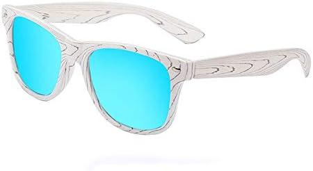 Qukueiy 偏光サングラス ウェリントン型 ミラー 超軽量フレーム UV400紫外線 おしゃれ セット ユニセックス