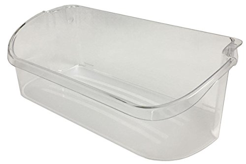 fastoworld Refrigerator Gallon Door Bin Clear for Frigidaire AP2549958 PS430122 240356402 by fastoworld