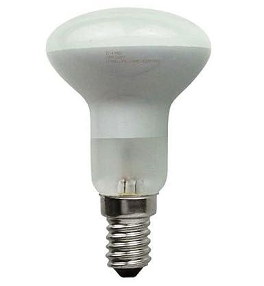 Long Life Lamp Company E14 Edison SES 10 R50 Reflector Halogen Energy Saving 42 Watt Equivalent 60 Watt Dimmable Light Bulbs, Pack of 10 Long Life Lamp Compnay R50ECO42WE14