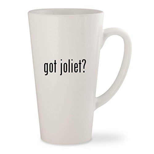 got joliet? - White 17oz Ceramic Latte Mug - Malls Joliet Il In