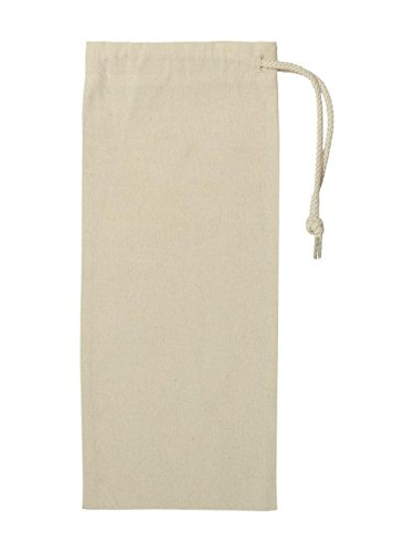 Liberty Bags Drawstring Wine Bag. 1727 - One Size - Natural