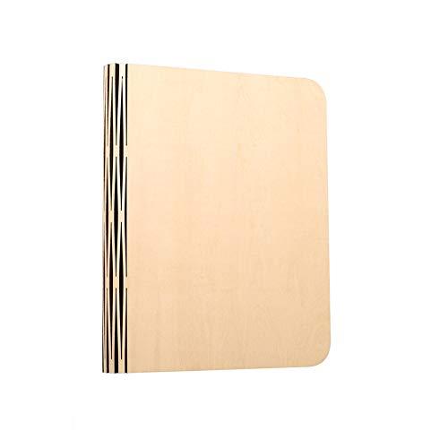GQQ Libro Lámpara Escritorio,360 ° Estirable Papel Dupont Sombra ...
