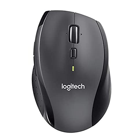 - 31Akk3Cte6L - Logitech M705 Marathon Wireless Mouse – Long 3 Year Battery Life, Ergonomic Sculpted Right-hand Shape, Hyper-fast Scrolling and USB Unifying Receiver, for Computers and Laptops, Dark Gray