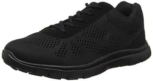 Get Fit Womens Mesh Running Trainers Athletic Walk Gym Shoes Sport Run