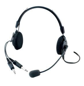 Telex 850 Airman Anr Pilot Headset by Telex