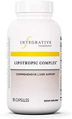 Integrative Therapeutics - Lipotropic Complex - Comprehensive Liver Support - 90 Capsules