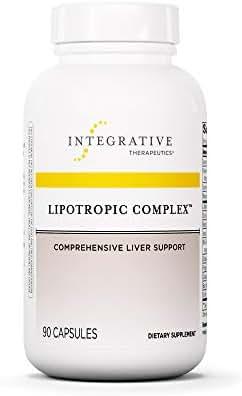 Integrative Therapeutics - Lipotropic Complex - Comprehensive Liver Support - 90 Capsules
