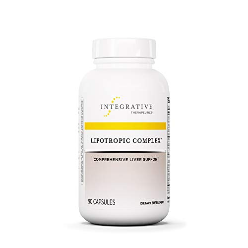 Integrative Therapeutics – Lipotropic Complex – Comprehensive Liver Support – 90 Capsules