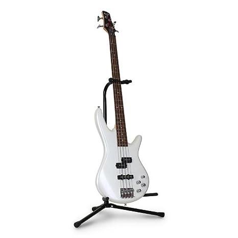 Auna Soporte guitarra y bajo teppiede Stander plegable con cabeza a y barnizado a polvo: Amazon.es: Electrónica