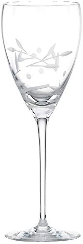 Lenox Opal Innocence Platinum Signature Elegant Lead Crystal Goblet/Chalice Set Of -