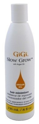 Gigi Slow Grow W/Argan Oil Hair Minimizer 8oz (6 Pack)