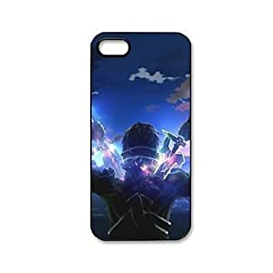 Anime Sword Art Online Pattern Plastic Hard Case for iPhone 5/5S by runtopwell