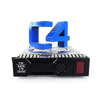 "693687-B21 HP 4TB 7.2K 6G MDL LFF 3.5/"" SATA SC HDD HARD DRIVE FOR PROLIANT G8"