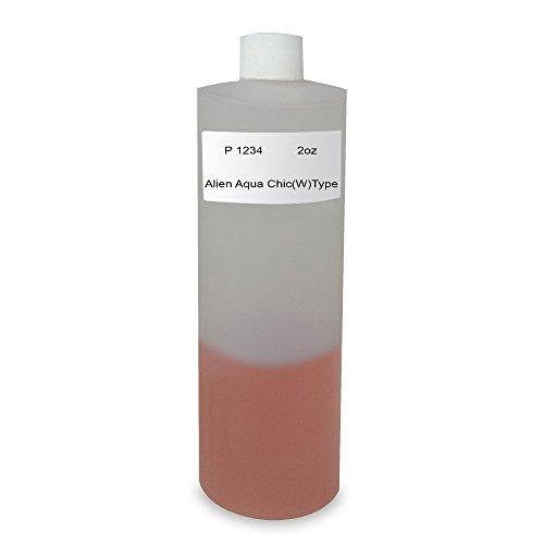 Scented Alien Perfume (2 Oz, - Bargz Perfume - P 1234 Alien Aqua Chic Body Oil For Women Scented Fragrance)