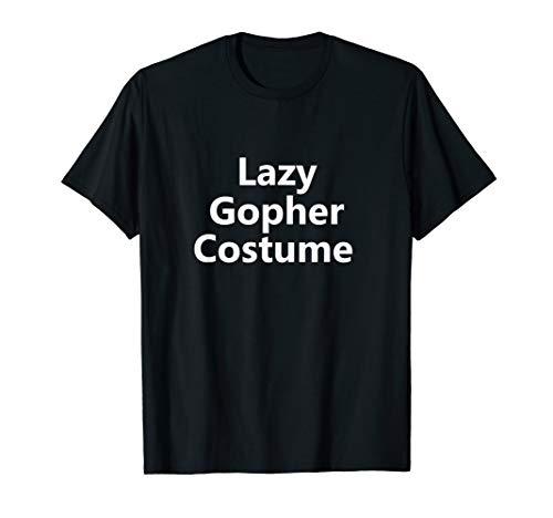 Last Minute Costume Ideas For Boys (Funny Lazy Gopher Halloween Animal Costume Last Minute Idea)