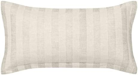 Laura Ashley Lorene Throw Pillow, 11×22, Beige