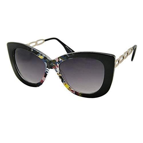 cat metal pin branche hotrodspirit eyes multicolore femme de lunette fleur soleil gros rockabilly up PwPqXngSv