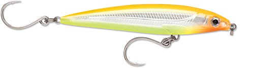 12x12 Bone (Rapala X-Rap Long Cast Shallow 12 Bone Chartreuse)