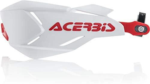 Acerbis 0022397.239 - Paramanos X-Factory, blanco/rojo