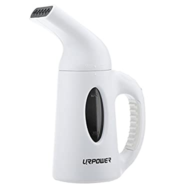 URPOWER Garment Steamer Portable Handheld Fabric Steamer Fast Heat-up Powerful Travel Garment Clothes Steamer with High Capacity Perfect for Home and Travel