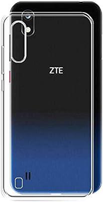 TBOC Funda de Gel TPU Transparente para ZTE Blade A7: Amazon.es ...