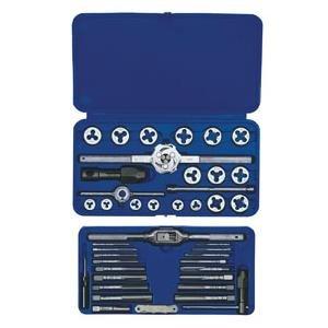 Amp Die - HNS24606 - Irwin Tools SAE Machine-Screw/Fractional Tap amp; Die Set