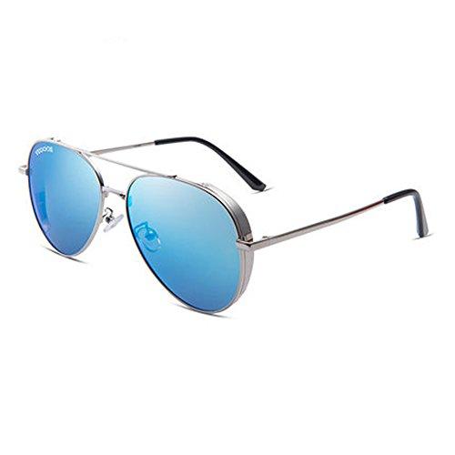 femmes de B nouveau polarisées soleil de miroir Couple soleil plein hommes conduite soleil de lunettes en lunettes de lunettes et air Zq5Sx1