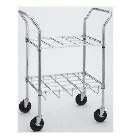 Drive Medical Oxygen Cylinder Cart, 12 Cylinders
