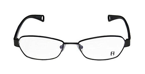 FreudenHaus Omega 9.2 Mens/Womens Designer Full-rim Eyeglasses/Spectacles (51-16-130, Black) (Marco Polo Costume)