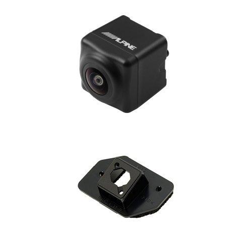 アルパイン(ALPINE) 汎用バックビューカメラ(ブラック) HCE-C1000(30系アルファードヴェルファイア専用 取付け金具 セット) B01NAH6WJG