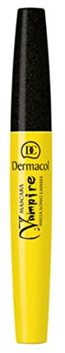 Dermacol Vampire Mega Long Lashes Mascara - BLACK 8.0 (Vampire Contact Lenses)