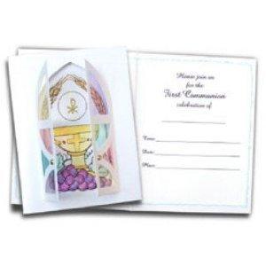 Amazon first communion invitation card kit health personal care first communion invitation card kit stopboris Gallery