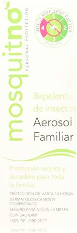 Mosquitno Spray Familiar, 100 ml