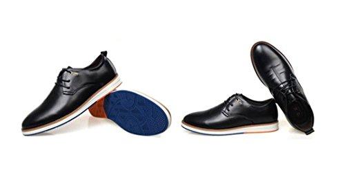 Sport Marée Linyi Black Hommes Dentelle Bord Respirant Chaussures Ronde Occasionnels De Plat Nouveaux qpUXTF
