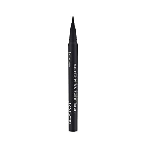 (Christian Dior Diorshow On Stage Liquid Eyeliner 096 Vinyl Black for Women, 0.01 Ounce)