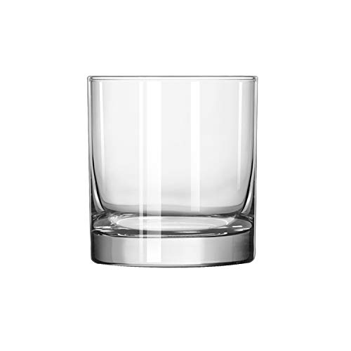Libbey Glassware 917CD Beverage Finedge Glass, Heavy Base, 11 oz. (Pack of 36)