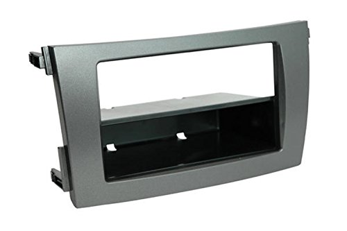 SCOSCHE TA2101DGB 2009-13 Toyota Corolla (Dark Grey) Double DIN or DIN w/pocket Install Dash Kit (Dash Kit Scosche Pocket)