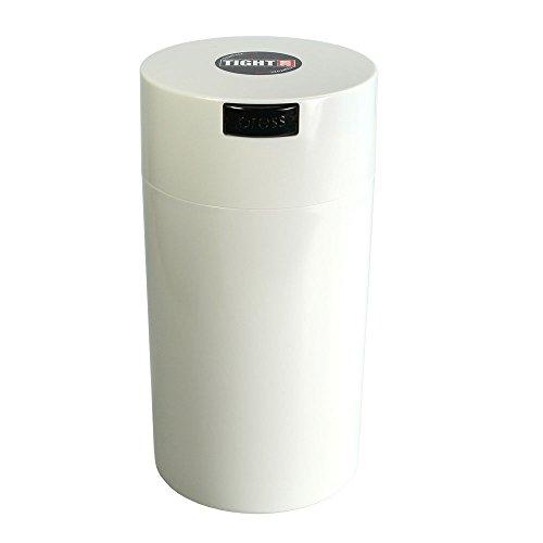Tightpac America, Inc. Tightvac - 3 to 12 Oz Vacuum Sealed Storage Container, 1.3 L, White