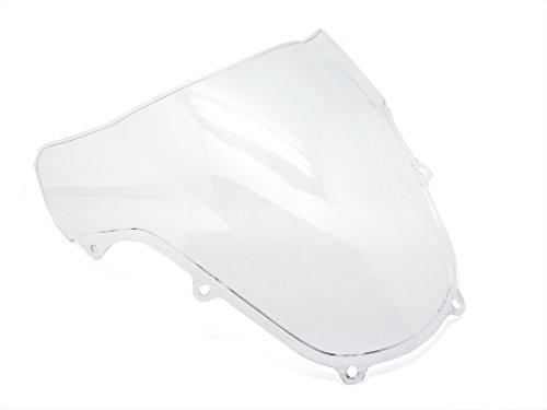 2000 Windscreen - 9sparts® Clear Double Bubble Transparent Windscreen Windshiled for 2000 2001 2002 2003 Suzuki GSXR600 GSXR750 GSXR 600 750