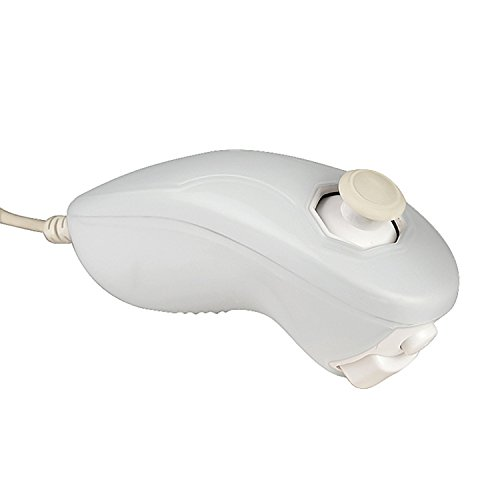 Everydaysource Compatible With Nintendo Wii Nunchuk, White,