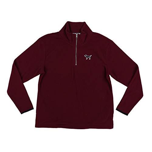 Victoria's Secret Pink Sweatshirt Quarter Zip Fleece (S, -