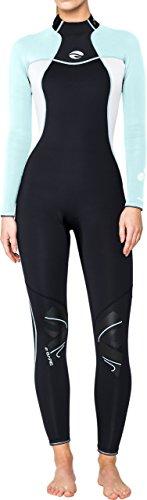 Bare 3/2mm Nixie Women's Fullsuit (10, - Bare Wetsuit Wetsuits