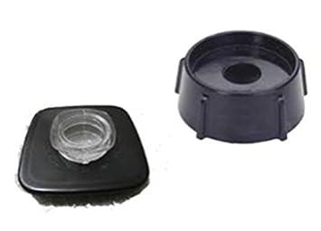 goodbuy-us Oster carcasa parte base de jarra de batidora con jarra de cristal de color negro de repuesto para Oster y Osterizer batidoras: Amazon.es: Hogar