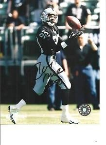 - Jerry Rice Signed 8x10 Picturegraph Mounted Memories MM Signed Oakland Raiders - Authentic Autograph
