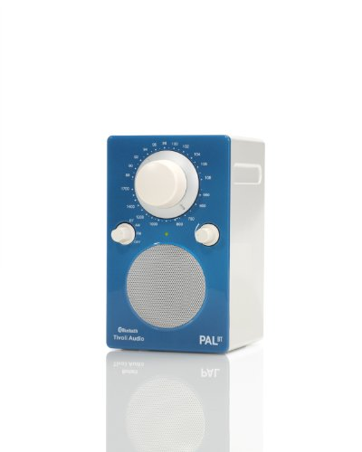 Tivoli Audio PALBTGB PAL BT Bluetooth Portable AM/FM Radio (High Gloss Blue/White)